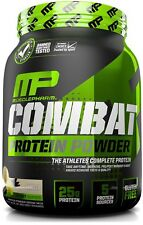 MusclePharm Combat Protein Powder - Essential blend of Whey, Isolate, Casein ...