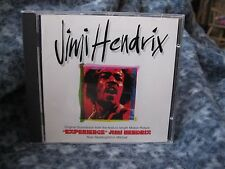"JIMI HENDRIX RHTF ""EXPERIENCE"" ORIGINAL SOUNDTRACK CD"