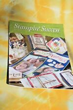 Stampin' Up! Success MAGAZINE June 2002  FREE SHIPPING!