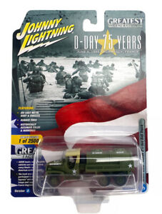 Johnny lightning D Day 75 Years Version A release 3 ww2 CCKW 2 1/2 ton 6x6 truck