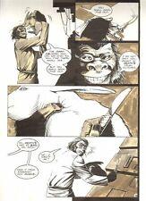 Planet of the Apes: Ape City #18 p.5 - Ape Mad Scientist - 1990 by M.C. Wyman