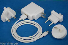 12W AC Power Adapter Wall Charger+6ft 2M USB cable WHITE for iPad Air 2 4 mini 3
