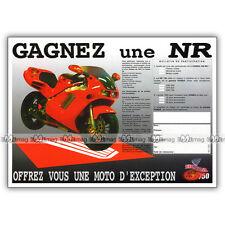 PUB HONDA NR 750 NR750 - Ad / Publicité Moto de 1998