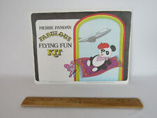 NEW VTG 1979 PAN AM AIRLINES PIERRE PANDA'S FABULOUS FLYING FUN KIT NEVER USED