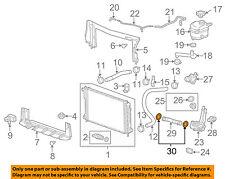 GM OEM Water Pump-Outlet Pipe Seal 90537379