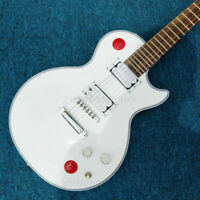 Custom White Buckethead Signature LP Electric Guitar FREE SHIPPING