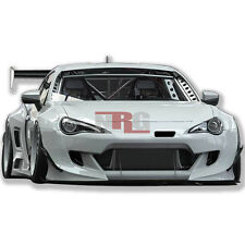 for BRZ FRS GT86 Rocket V3 Wide body kit Front+Fenders+Sides+Rear Diff GT3-325FK