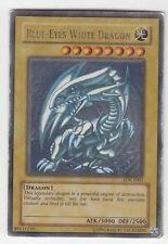 YU-GI-OH PLAYED Blue Eyes White Dragon Ultra Rare ENG SDK Blauäugiger W Drache