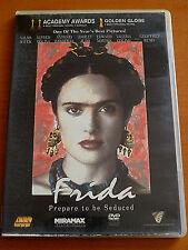 FRIDA  DVD PAL FORMAT REGION 2  Salma Hayek, Alfred Molina