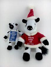 Chick-fil-A Cow Plush Stuffed Santa Claus Lot