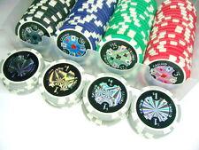 Set 100 fichas poker poquer prof. 11,5 Gramos + Regalo