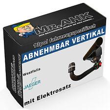 WESTFALIA Audi A4 B7 Limo 04-07 Anhängerkupplung AHK abnehmbar 13pol spe. E-Satz