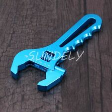 3AN-16AN Adjustable Aluminum AN Wrench Hose Fitting Tool Spanner Blue FAST