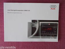 (GERMAN LANGUAGE) AUDI TT SAT NAV NAVIGATION (BNS 5.0) BEDIENUNGSANLEITUNG AN 75