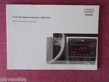 (GERMAN LANGUAGE) AUDI TT SAT NAV NAVIGATION (BNS 5.0) BEDIENUNGSANLEITUNG AN 75