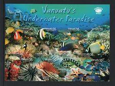 Vanuatu 2004 Marine Life sheet UM (MNH)