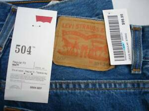 Levis Red Tab jeans  504 / 30 / 34. New with tags.
