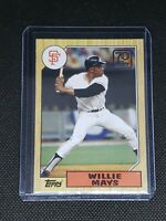 2021 Topps Series One WILLIE MAYS #70YT-37 San Francisco Giants 87 Anniversary