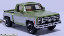 RARE KEY CHAIN GREEN CHEVY STEPSIDE C10 CHEVROLET PICKUP C-10/20 NEW CUSTOM LTD