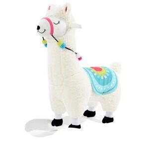 labebe Baby Rocking Horse - White Alpaca Baby Plush Rocker Toys, Gift Alpaca