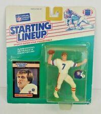 1989 John Elway Denver Broncos HOF Only 4 S H Kenner Starting Lineup SLU