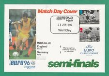 FOOTBALL  -   STAMP  COVER  ENVELOPE  FOR  EURO  96  -  MATCH  NO.  30  -  1996