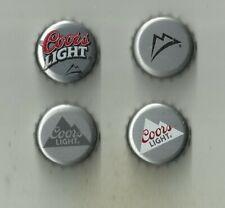 US/Canada 4 caps Differents Beer Coors Light (Molson) Quebec