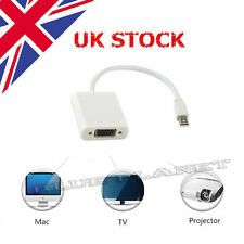 Dell XPS 15 Mini TV Display Port to VGA Adapter Converter Cable UK Shipping