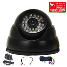 Security Camera Wide Angle Weatherproof Outdoor IR LED w/ Sony CCD Audio Mic m2e