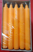 Dinner Candles, In Different Colours, Burning Time 8 Hours