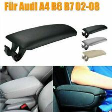 Per Audi A4 B6B7 02-08 Auto Bracciolo Centrale Copertura Coperchio Pelle nuovo
