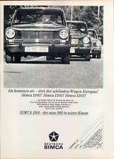Simca-1301-1967-Reklame-Werbung-genuine Advert-La publicité-nl-Versandhandel