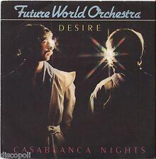 "FUTURE WORLD ORCHESTRA - Desire - VINYL 7"" 45 ITALY 1982 NEAR MINT COVER VG+"