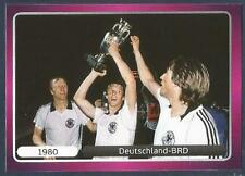 PANINI EURO 2012- #524-CHAMPIONSHIP WINNERS-1980-DEUTSCHLAND-BRD-WEST GERMANY