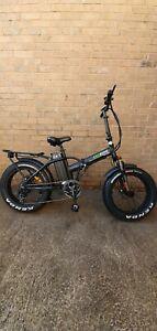 "E Bike Foldable Electric Bike -350w -Black- 16""  Frame - 48 hour delivery"