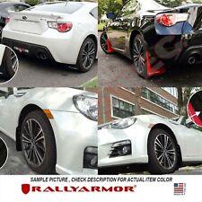 Rally Armor UR Mud Flaps WHITE LOGO FITS 2013 Subaru BRZ Scion FR-S
