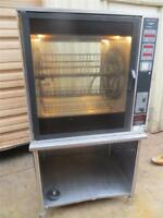 Henny Penny Chicken Rotisserie Oven Commercial Restaurant Glass Door Convection
