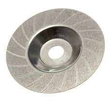 "100mm 4"" Inch Diamond Coated Grinding Polishing Grind Disc Rotary Wheel Grit"