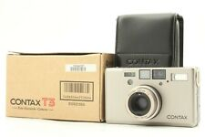 【UNUSED in BOX】 Contax T3 Silver 35mm Point & Shoot Film Camera From JAPAN ic247