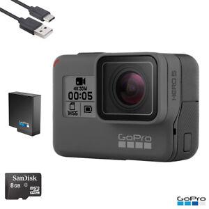 GoPro HERO 5 Black Waterproof Action 4K Ultra HD Camera Touch Screen