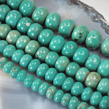 Turquoise Rondelle Spacer Loose Stone Beads