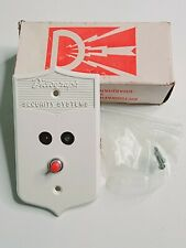 Vintage Dictograph Security Systems Remote Control With Button No. G901 New