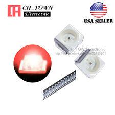 100pcs 1210 3528 Red Light Plcc 2 Smd Smt Led Diodes Emitting Ultra Bright Usa