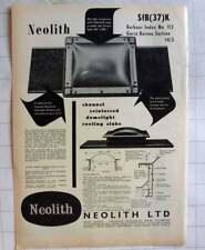1962 Neolith Limited Newburn Newcastle Upon Tyne