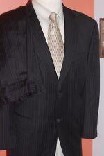 Society Brand LTD Hartmarx 100% Wool Navy Striped Suit 42 S