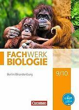 Fachwerk Biologie - Berlin/Brandenburg / 9./10. Sch... | Buch | Zustand sehr gut