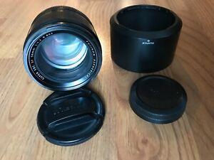 Fujifilm FUJINON XF 56mm F/1.2 R Lens - Black SUPER EBC