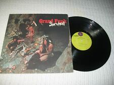 1971 - GRAND FUNK RAILROAD / SURVIVAL - LIME GREEN    -  ROCK LP RECORD
