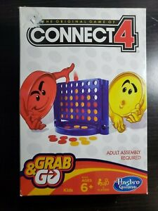 NEW OPENED BOX - Connect 4 Grab & Go - Travel Size - CHARITY AUCTION