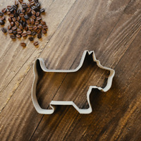 Scotty Dog Cookie Cutter - Fondant & Biscuit Cutter - 3 Sizes. Pet Animal